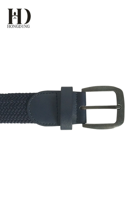 Men's Elastic Fabric Braided Belt
