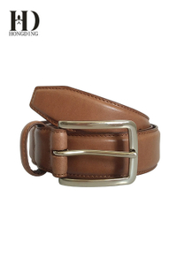 Brown Men's Leather Belt