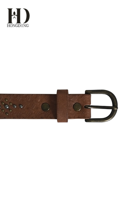 Mens PU Belt with Buckle