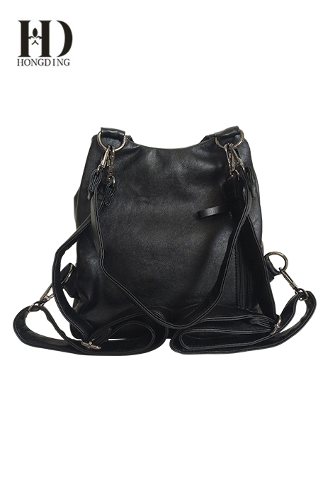 PU Ladies Shoulder Bag Black