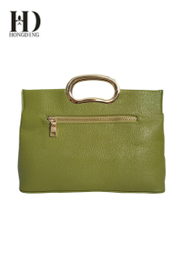 PU Fashion Green Handbag for Ladies