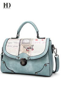 HongDing Stylish Simple Shoulder Bags High Quality PU Leather Handbags Cross-Body Bags For Women