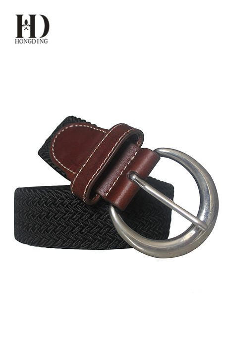 Customized Mens Braided Leather Belts