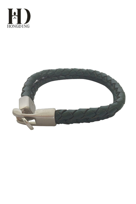 Men's Leather Braided Bracelets