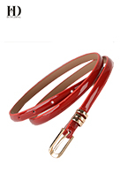 100% Wrap Leather Belt Women