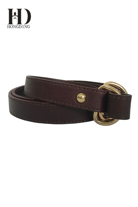 Belt Brown Leather Women