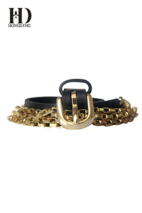 Women's Metal & Chain Belts